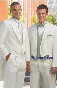 Bán và cho thuê áo vest đuôi tôm trắng đẹp tại Ấn Tượng Hà Shop