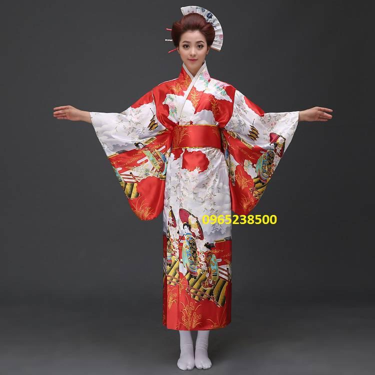 Kimono,Yukata nhiều màu