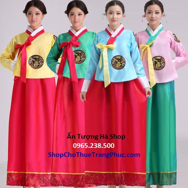 Hanbok nữ vạt dài