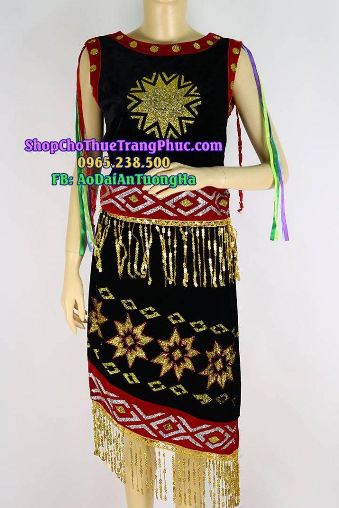 Trang phục dân tộc Tây Nguyên Đ