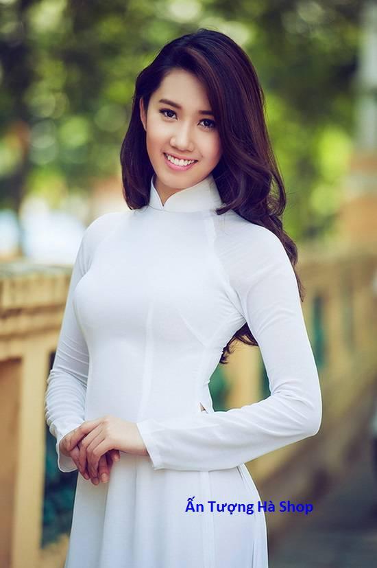 Áo dài trắng lụa
